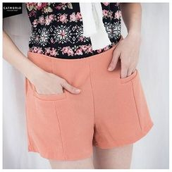 CatWorld - High-Waist Shorts