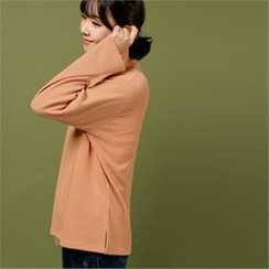 Styleberry - Round-Neck Plain Top
