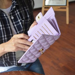 Bags 'n Sacks - Quilted Long Wallet
