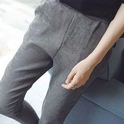 微米家 - 灯芯绒锥形裤