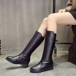 Yoflap - Hidden Wedge Tall Boots