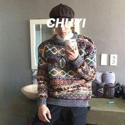 Chuoku - Patterned Sweater