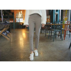 Envy Look - Fleece-Lined Leggings Pants