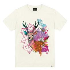 the shirts - Deer Print T-Shirt