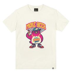 the shirts - Drinking Bird Print T-Shirt