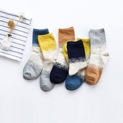 Cutie Bazaar - Color Block Socks
