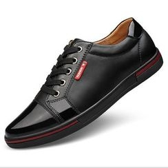 Van Camel - Genuine Leather Casual Shoes