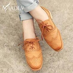 MIAOLV - Stitched Oxford Shoes
