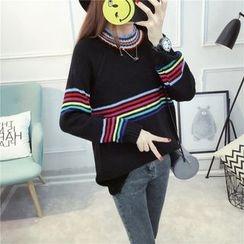Dream Girl - Stripe Knit Top