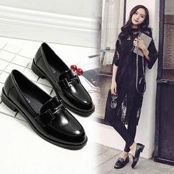 安若 - 仿皮樂福鞋