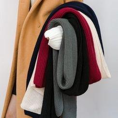 Heynew - Ribbed Knit Scarf