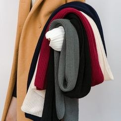 Heynew - 罗纹针织围巾