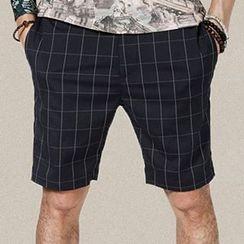 Mannmix - Check Shorts