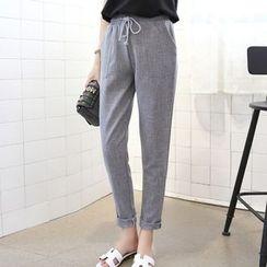Isadora - Drawstring Pants