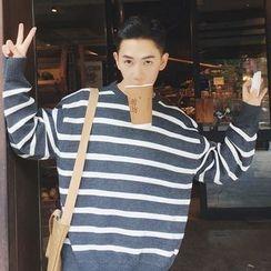 Soulcity - Striped Oversized Sweater