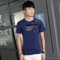 Walwa - Short-Sleeve Printed T-Shirt