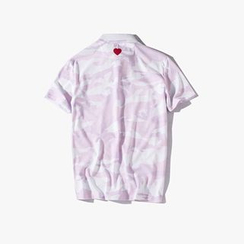 MRCYC - Camouflage-Print Polo Shirt