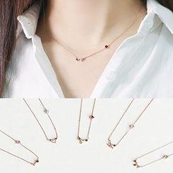 Party Girl - Rhinestone Necklace
