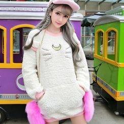 Emeline - Fleece Long Sweatshirt