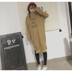 Eva Fashion - Letter Long Sweatshirt