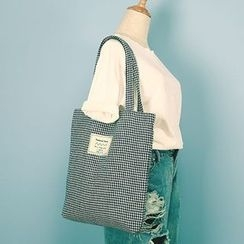 Ms Bean - Houndstooth Tote Bag