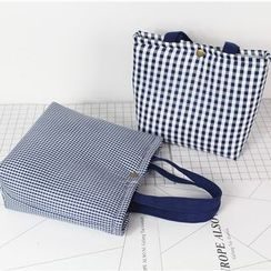 Ms Bean - Gingham Lunch Bag