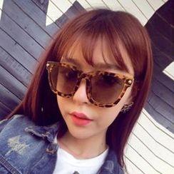 UnaHome Glasses - Thick Frame Square Sunglasses