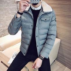 YONDER - Fleece-Collar Padded Jacket