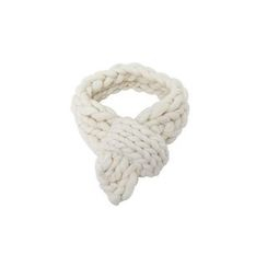 DABAGIRL - Hand-Made Wool Chunky-Knit Scarf