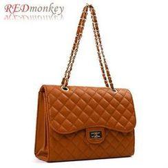 REDmonkey - Twist-Lock Quilted Shoulder Bag