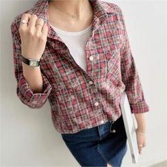 PEPER - Pocket-Front Check Shirt