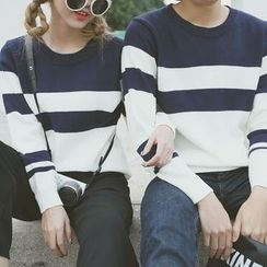 HotBlock - Matching Couple Two-Tone Sweater