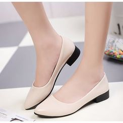 Simply Walk - 漆皮平跟鞋