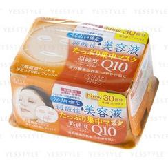 Kose 高絲 - Clear Turn Q10美容液保濕彈力面膜