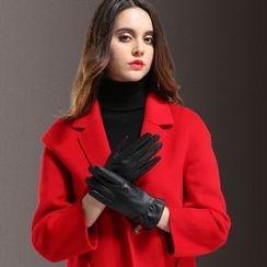 Scarflet - Genuine-Leather Gloves