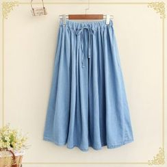 Fairyland - Midi Denim Skirt