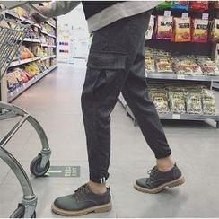 Bestrooy - Woolen Cargo Pants
