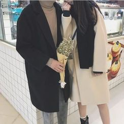 Bestrooy - Couple Matching Woolen Long Coat