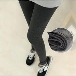 Viana Smile - Maternity Fleece-lined Leggings