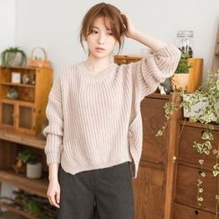Angel Love - Plain Dip-Back Sweater