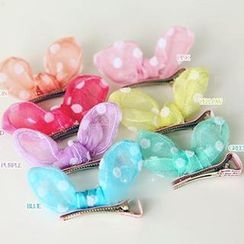 Chapa - Kids Dotted Bowed Hair Clip