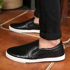 Artree - Faux Leather Slip-Ons