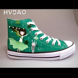 HVBAO - 'Singing in the Rain' Canvas Sneakers