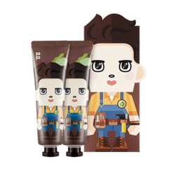Nature Republic - Hand And Nature Hand Cream - Shea Butter (EXO Edition - D.O.) 2pcs