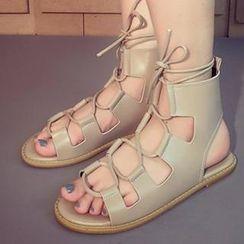 Mancienne - Flat Sandals