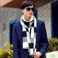 Amandier - 格子围巾