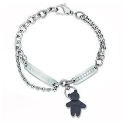 Kenny & co. - Kenny & co logo Sweetheart Kenny Bear Crystal Bracelet