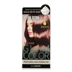 The Saem - Silk Hair Glam Color Bubble (#8P Pink Brown)