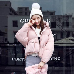 lilygirl - Cropped Padded Jacket