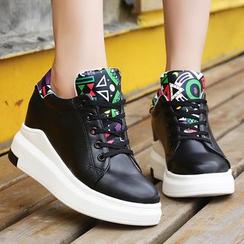 Max Dash - Panel Hidden Wedge Sneakers